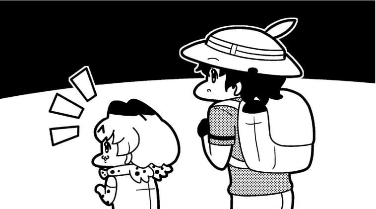 【けものフレンズ4コマ】おかあさん